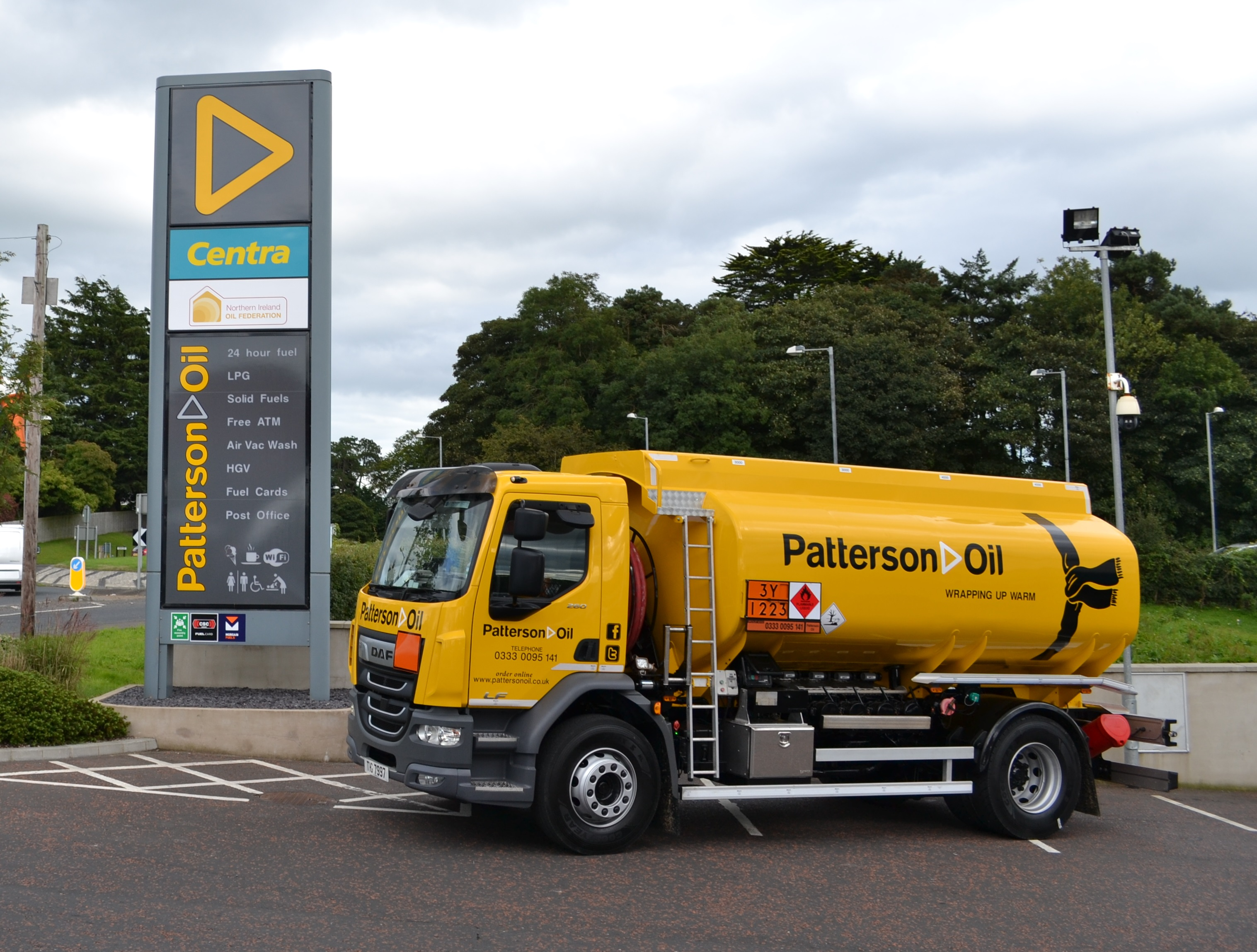 Patterson Oil | UK | Delivering quality oil to your door